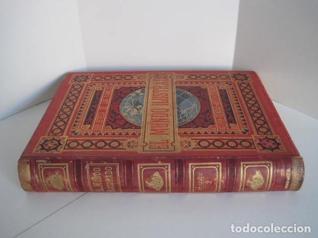 Enciclopedias antiguas: EL MUNDO ILUSTRADO. SEGUNDA SERIE. TOMOS 1, 2, 3 Y 4. HISTORIA, CIENCIAS, ARTES, LITERATURA. - Foto 14 - 219396043