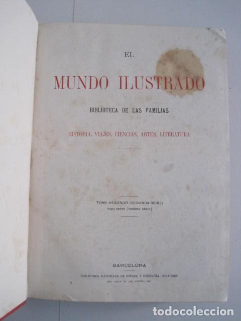 Enciclopedias antiguas: EL MUNDO ILUSTRADO. SEGUNDA SERIE. TOMOS 1, 2, 3 Y 4. HISTORIA, CIENCIAS, ARTES, LITERATURA. - Foto 20 - 219396043