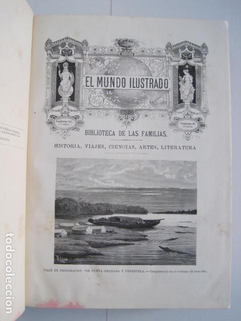 Enciclopedias antiguas: EL MUNDO ILUSTRADO. SEGUNDA SERIE. TOMOS 1, 2, 3 Y 4. HISTORIA, CIENCIAS, ARTES, LITERATURA. - Foto 55 - 219396043