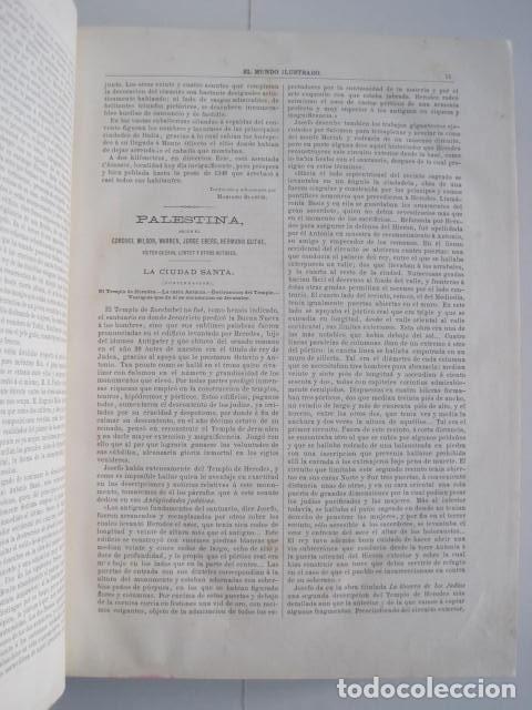 Enciclopedias antiguas: EL MUNDO ILUSTRADO. SEGUNDA SERIE. TOMOS 1, 2, 3 Y 4. HISTORIA, CIENCIAS, ARTES, LITERATURA. - Foto 56 - 219396043