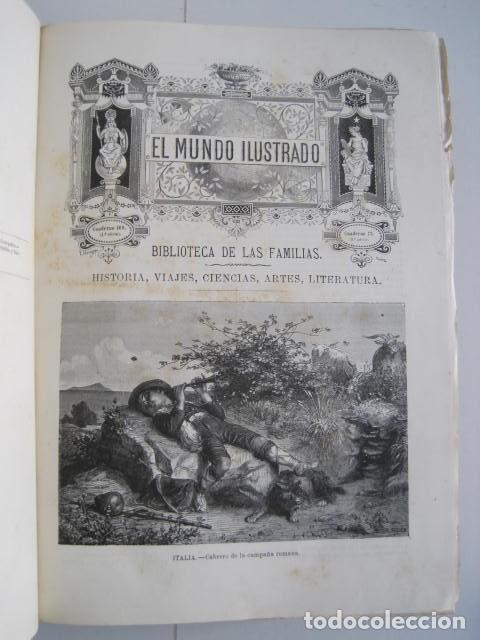Enciclopedias antiguas: EL MUNDO ILUSTRADO. SEGUNDA SERIE. TOMOS 1, 2, 3 Y 4. HISTORIA, CIENCIAS, ARTES, LITERATURA. - Foto 77 - 219396043