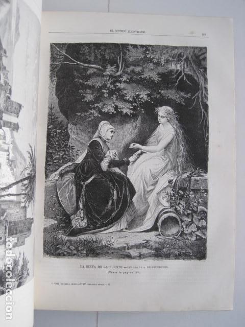 Enciclopedias antiguas: EL MUNDO ILUSTRADO. SEGUNDA SERIE. TOMOS 1, 2, 3 Y 4. HISTORIA, CIENCIAS, ARTES, LITERATURA. - Foto 79 - 219396043