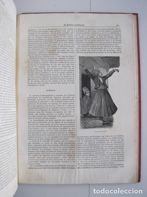 Enciclopedias antiguas: EL MUNDO ILUSTRADO. SEGUNDA SERIE. TOMOS 1, 2, 3 Y 4. HISTORIA, CIENCIAS, ARTES, LITERATURA. - Foto 80 - 219396043