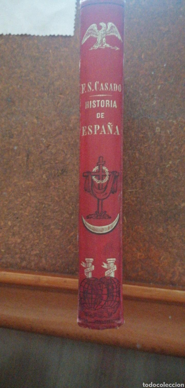 Enciclopedias antiguas: PRONTUARIO DE HISTORIA DE ESPAÑA AÑO DE EDICIÓN 1900 - Foto 2 - 221445870