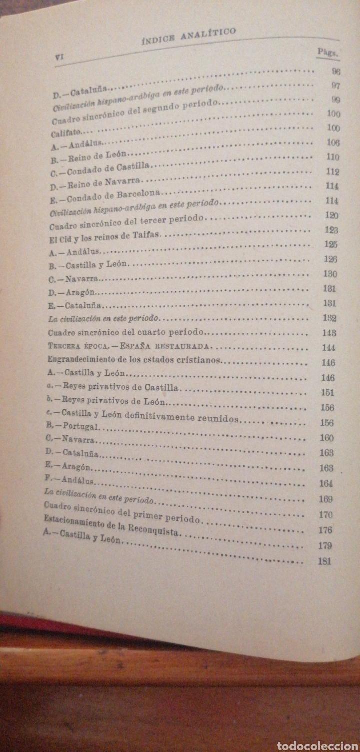 Enciclopedias antiguas: PRONTUARIO DE HISTORIA DE ESPAÑA AÑO DE EDICIÓN 1900 - Foto 6 - 221445870