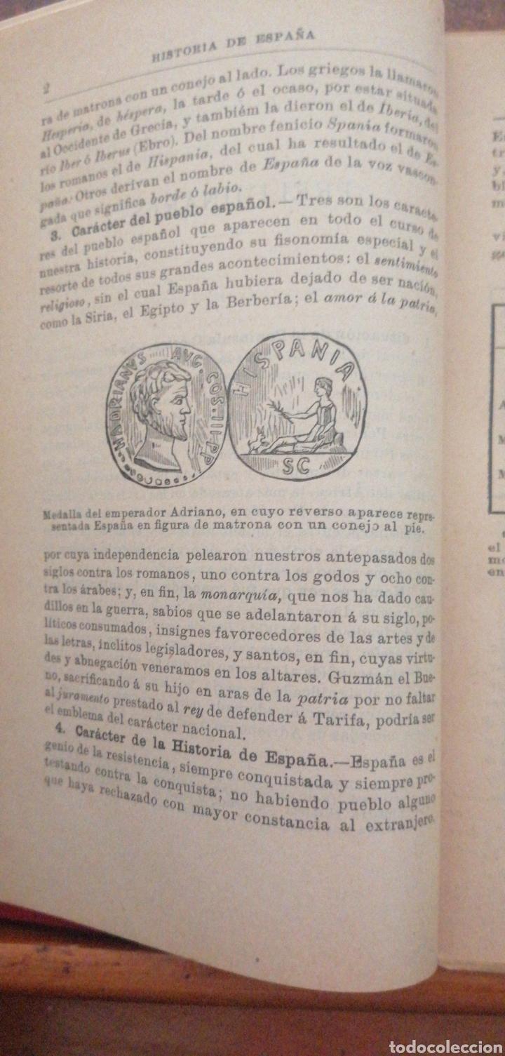 Enciclopedias antiguas: PRONTUARIO DE HISTORIA DE ESPAÑA AÑO DE EDICIÓN 1900 - Foto 9 - 221445870