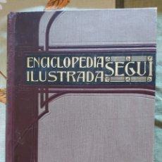 Enciclopedias antiguas: ENCICLOPEDIA ILUSTRADA SEGUI. TOMO III.. Lote 222229145