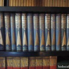 Enciclopedias antiguas: SUMMA ARTIS - HISTORIA GENERAL DEL ARTE - COSSIO -PIJOAN - 15 TOMOS - PRIMERA EDICIÓN - 1931/1952. Lote 222265601