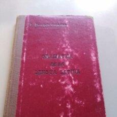Enciclopedias antiguas: GRAMÁTICA DE LA LENGUA LATINA. E BARRIGÓN GONZÁLEZ. PARTE SEGUNDA. Lote 222274402