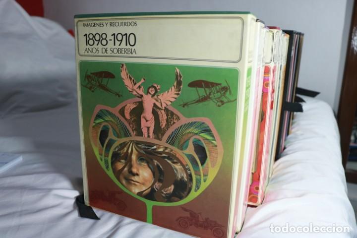 Enciclopedias antiguas: Lote de 17 Enciclopedias Anuarios - Imágenes y Recuerdos - Difusora Internacional - Foto 2 - 222475700