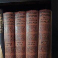 Enciclopedias antiguas: DICCIONARI ENCICLOPÈDIC DE LA LLENGUA CATALANA - SALVAT EDITORS - 1933-1935. Lote 230098550