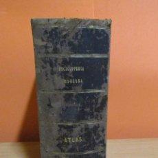 Enciclopedias antiguas: ENCICLOPEDIA MODERNA FRANCISCO DE P. MELLADO ATLAS (TOMO I) 388 LAMINAS AÑO 1855. Lote 231943385