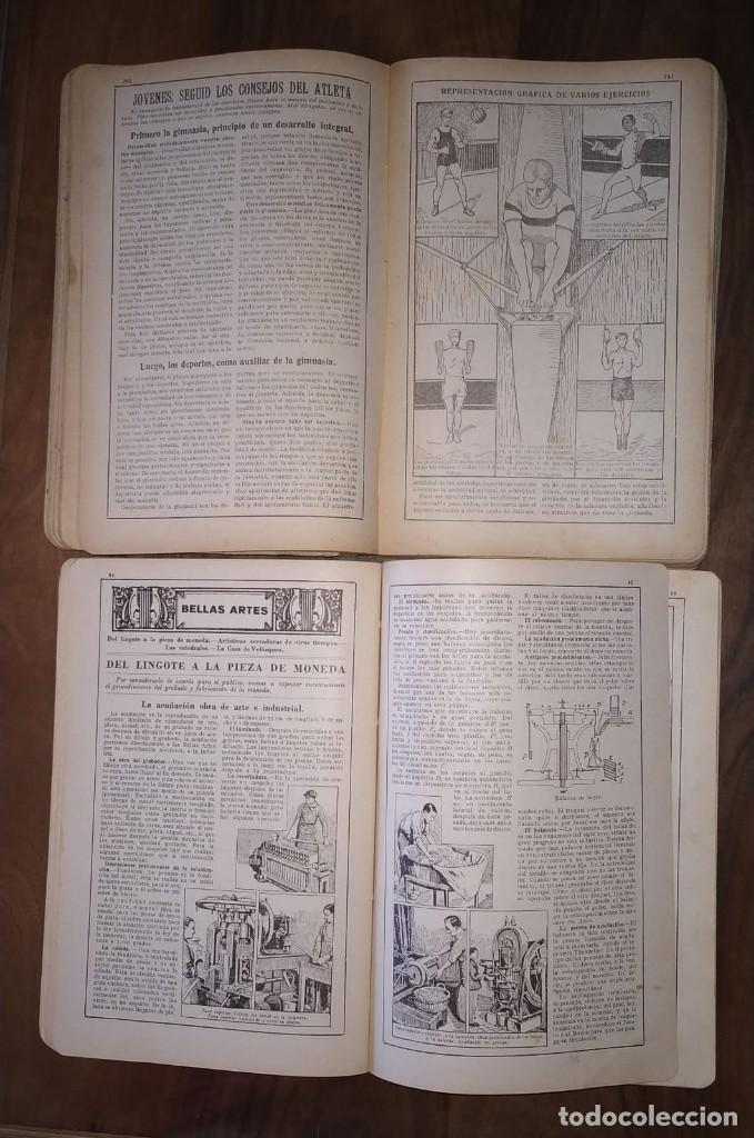 Enciclopedias antiguas: DOS ALMANAQUES BAILLY-BAILLIERE AÑO 1929 Y 1936. PEQUEÑA ENCICLOPEDIA POPULAR DE LA VIDA PRACTICA. - Foto 2 - 234168600