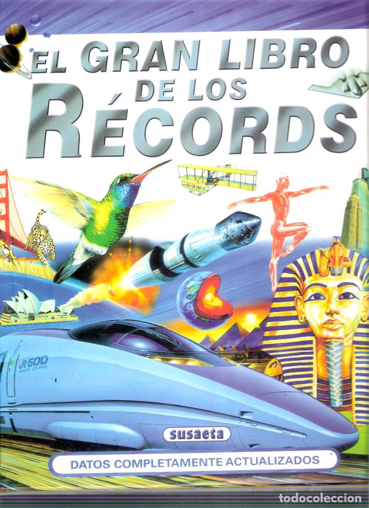 EL GRAN LIBRO DE LOS RECORDS - Mª ANGELES MARTINEZ (Libros Antiguos, Raros y Curiosos - Enciclopedias)
