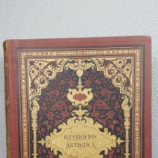 Enciclopedias antiguas: LA ILUSTRACIÓN ARTISTICA. AÑO VIII. BARCELONA, DESDE 1 DE ENERO DE 1889, NUM. 366 HASTA 30 DE DIC.. Lote 240731595