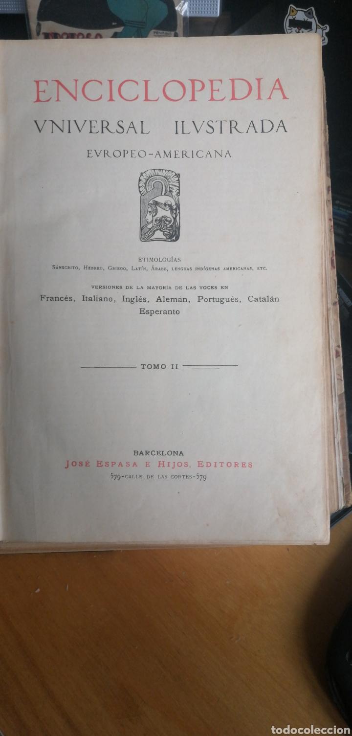 (1908 EDICION HISTORICA) ENCICLOPEDIA UNIVERSAL ILUSTRADA EUROPEO- AMERICANA,TOMO II JOSE ESPASA (Libros Antiguos, Raros y Curiosos - Enciclopedias)