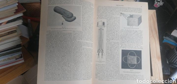 Enciclopedias antiguas: (1908 Edicion Historica) Enciclopedia Universal Ilustrada Europeo- Americana,Tomo III Aeronautica - Foto 5 - 243213250