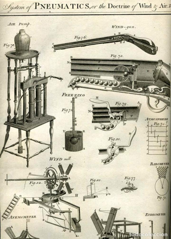 Enciclopedias antiguas: The New Royal Cyclopaedia, and Encyclopaedia... 3 tomos, 1788. G. Selby Howard/Hogg. 160 grabados - Foto 16 - 243794590