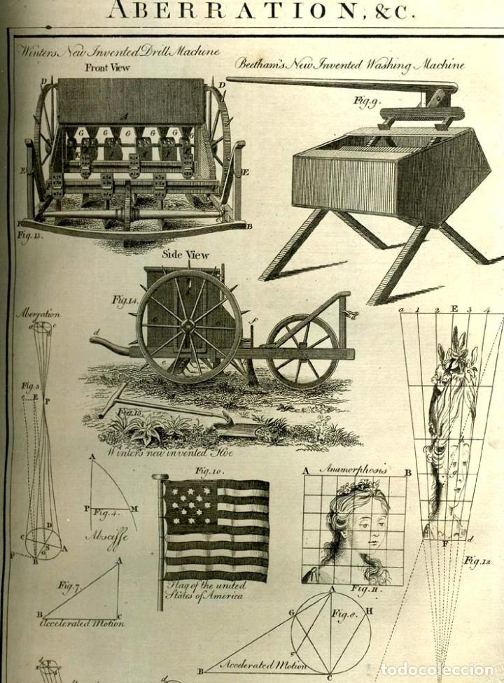 Enciclopedias antiguas: The New Royal Cyclopaedia, and Encyclopaedia... 3 tomos, 1788. G. Selby Howard/Hogg. 160 grabados - Foto 20 - 243794590
