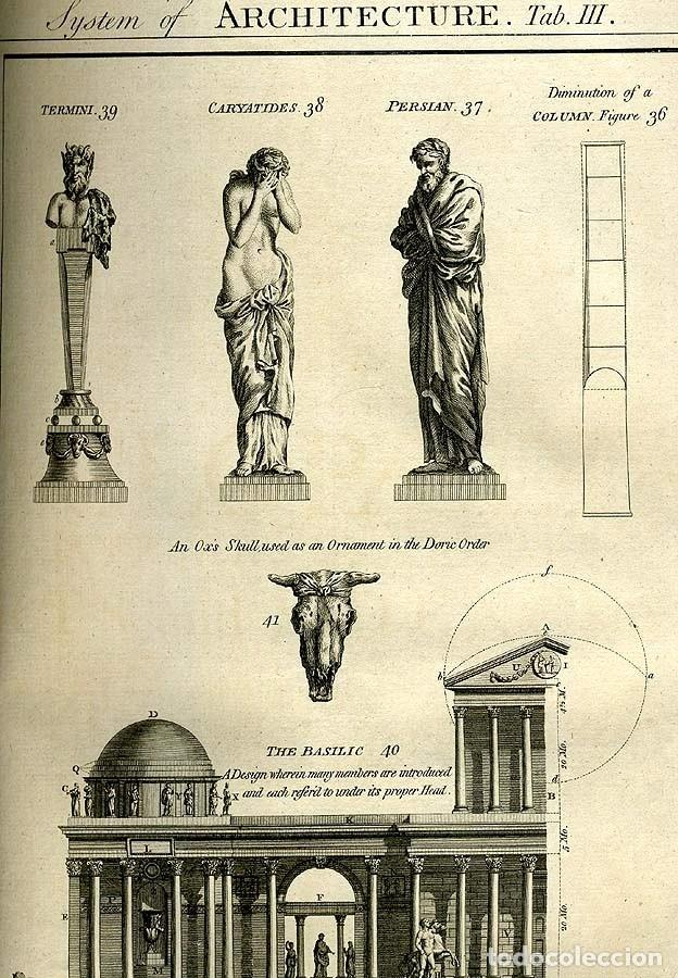 Enciclopedias antiguas: The New Royal Cyclopaedia, and Encyclopaedia... 3 tomos, 1788. G. Selby Howard/Hogg. 160 grabados - Foto 23 - 243794590