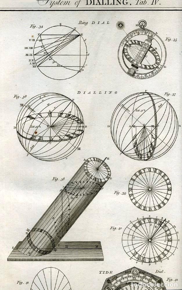 Enciclopedias antiguas: The New Royal Cyclopaedia, and Encyclopaedia... 3 tomos, 1788. G. Selby Howard/Hogg. 160 grabados - Foto 28 - 243794590
