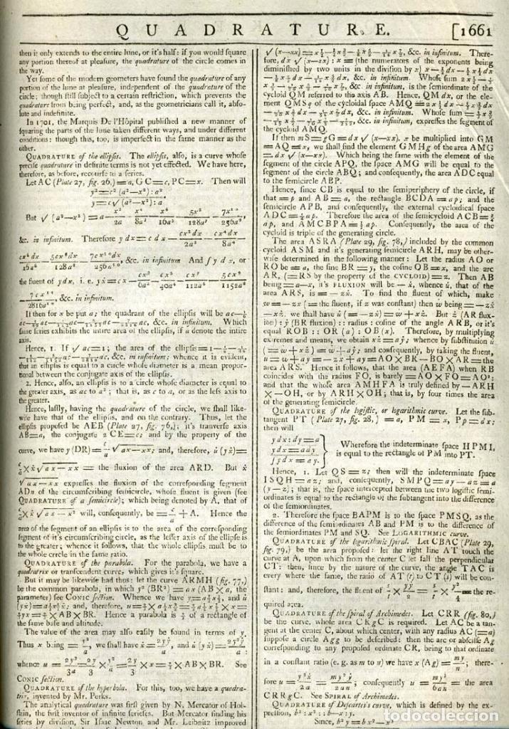 Enciclopedias antiguas: The New Royal Cyclopaedia, and Encyclopaedia... 3 tomos, 1788. G. Selby Howard/Hogg. 160 grabados - Foto 34 - 243794590
