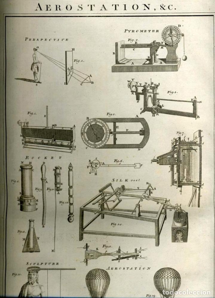 Enciclopedias antiguas: The New Royal Cyclopaedia, and Encyclopaedia... 3 tomos, 1788. G. Selby Howard/Hogg. 160 grabados - Foto 46 - 243794590