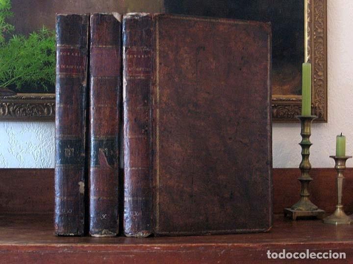 Enciclopedias antiguas: The New Royal Cyclopaedia, and Encyclopaedia... 3 tomos, 1788. G. Selby Howard/Hogg. 160 grabados - Foto 52 - 243794590