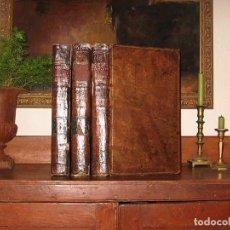 Enciclopedias antiguas: THE NEW ROYAL CYCLOPAEDIA, AND ENCYCLOPAEDIA... 3 TOMOS, 1788. G. SELBY HOWARD/HOGG. 160 GRABADOS. Lote 243794590