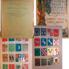 Enciclopedias antiguas: ENCICLOPEDIA HERALDICA Y GENEALOGICA HISPANO AMERICANA. T 24 (CELAIN A CLAVER ) 1927. Lote 244537235