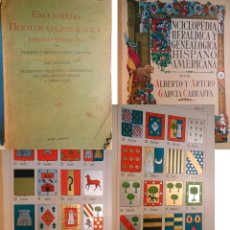 Enciclopedias antiguas: ENCICLOPEDIA HERALDICA Y GENEALOGICA HISPANO AMERICANA. T 27 (DESPOU A DUTARI) 1927. Lote 244537630