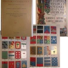 Enciclopedias antiguas: ENCICLOPEDIA HERALDICA Y GENEALOGICA HISPANO AMERICANA. T 11 (BAANA A BARBENA) 1923. Lote 244537910