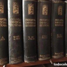 Enciclopedias antiguas: ENCICPLOPEDIA ESPASA-CALPE. Lote 244847800