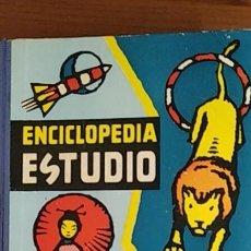 Enciclopedias antiguas: ENCICLOPEDIA DE ESTUDIO LIBRO AZUL. Lote 246477405