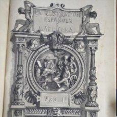 Enciclopedias antiguas: LA ILUSTRACION ESPAÑOLA Y AMERICANA 1883. Lote 246478360
