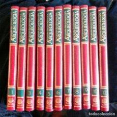 Enciclopedias antiguas: ENCICLOPEDIA EN 12 TOMOS LOS GRANDES DESCUBRIMIENTOS DE LA ARQUEOLOGIA. Lote 248375080