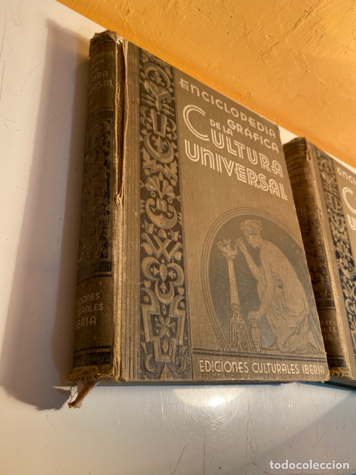Enciclopedias antiguas: Enciclopedia gráfica de la cultura universal - Foto 2 - 249115310