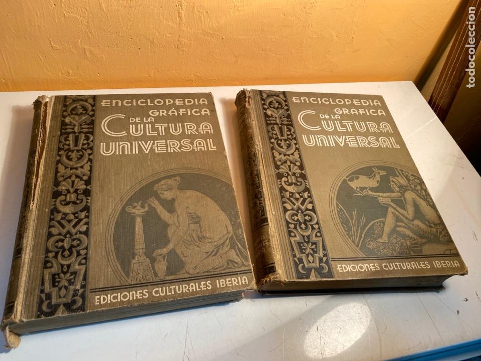 ENCICLOPEDIA GRÁFICA DE LA CULTURA UNIVERSAL (Libros Antiguos, Raros y Curiosos - Enciclopedias)
