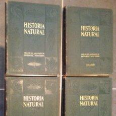 Enciclopedias antiguas: HISTORIA NATURAL. INSTITUTO GALLACH. CUATRO VOLÚMENES. 1926. Lote 253789595