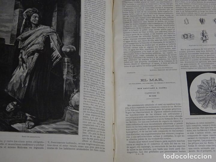 Enciclopedias antiguas: LIBRO TOMO ENCICLOPÉDICO SIGLO XIX AÑO 1879. EL MUNDO ILUSTRADO 2. GRECIA ROMA EGIPTO 768PAG. 3,5KG - Foto 6 - 254943355