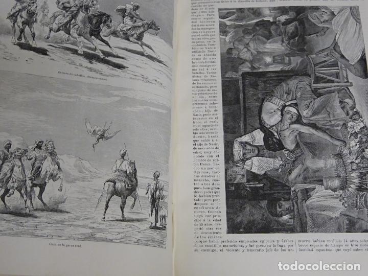 Enciclopedias antiguas: LIBRO TOMO ENCICLOPÉDICO SIGLO XIX AÑO 1879. EL MUNDO ILUSTRADO 2. GRECIA ROMA EGIPTO 768PAG. 3,5KG - Foto 7 - 254943355