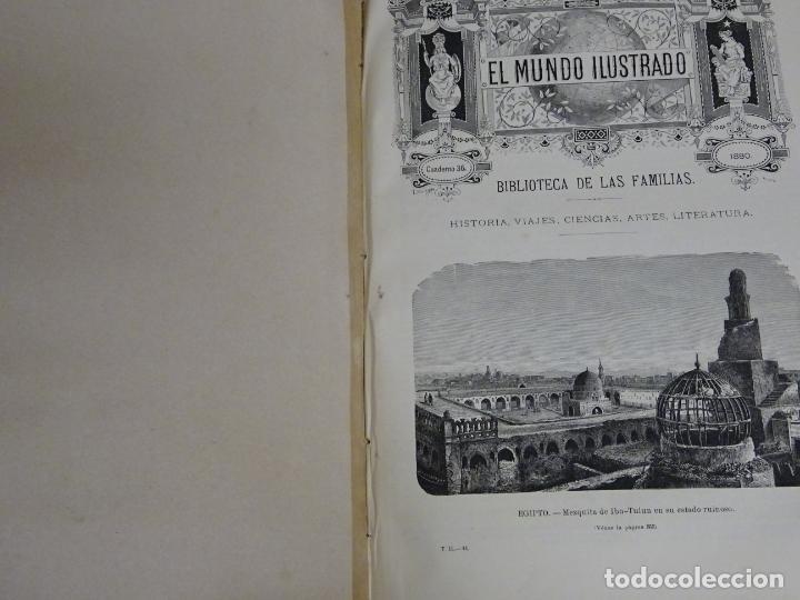 Enciclopedias antiguas: LIBRO TOMO ENCICLOPÉDICO SIGLO XIX AÑO 1879. EL MUNDO ILUSTRADO 2. GRECIA ROMA EGIPTO 768PAG. 3,5KG - Foto 9 - 254943355
