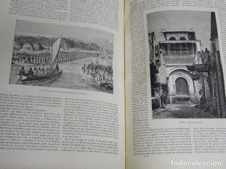 Enciclopedias antiguas: LIBRO TOMO ENCICLOPÉDICO SIGLO XIX AÑO 1879. EL MUNDO ILUSTRADO 2. GRECIA ROMA EGIPTO 768PAG. 3,5KG - Foto 10 - 254943355