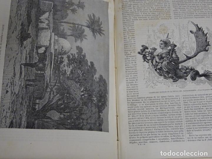 Enciclopedias antiguas: LIBRO TOMO ENCICLOPÉDICO SIGLO XIX AÑO 1879. EL MUNDO ILUSTRADO 2. GRECIA ROMA EGIPTO 768PAG. 3,5KG - Foto 11 - 254943355