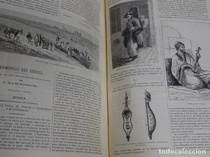 Enciclopedias antiguas: LIBRO TOMO ENCICLOPÉDICO SIGLO XIX AÑO 1879. EL MUNDO ILUSTRADO 2. GRECIA ROMA EGIPTO 768PAG. 3,5KG - Foto 12 - 254943355