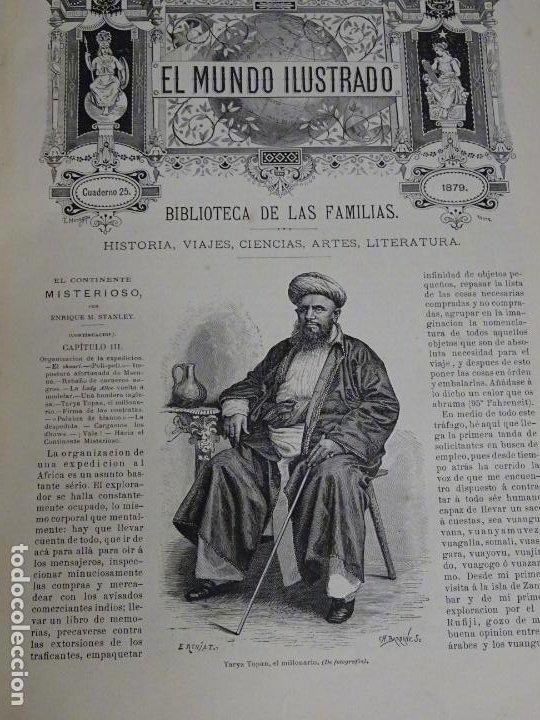 Enciclopedias antiguas: LIBRO TOMO ENCICLOPÉDICO SIGLO XIX AÑO 1879. EL MUNDO ILUSTRADO 2. GRECIA ROMA EGIPTO 768PAG. 3,5KG - Foto 14 - 254943355