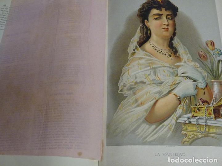 Enciclopedias antiguas: LIBRO TOMO ENCICLOPÉDICO SIGLO XIX AÑO 1879. EL MUNDO ILUSTRADO 1. MARRUECOS EGIPTO 774PAG. 3,5KG - Foto 6 - 254988715