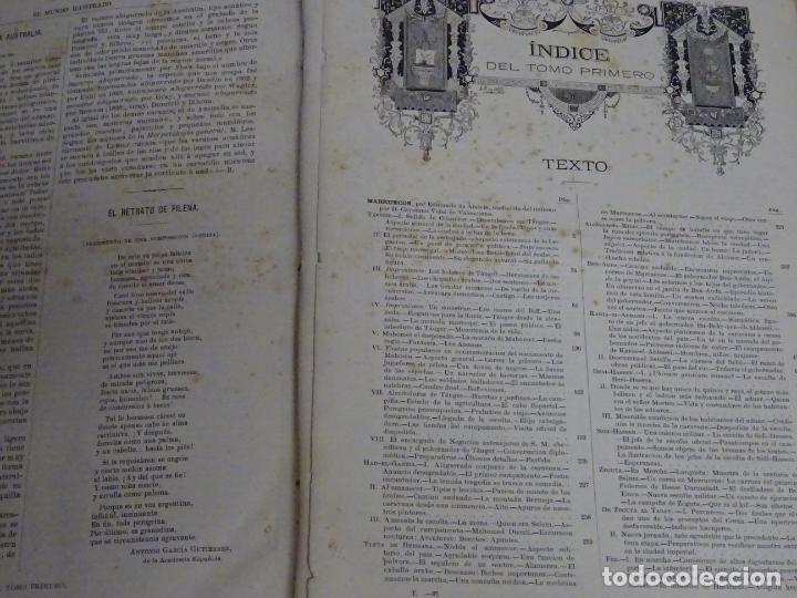 Enciclopedias antiguas: LIBRO TOMO ENCICLOPÉDICO SIGLO XIX AÑO 1879. EL MUNDO ILUSTRADO 1. MARRUECOS EGIPTO 774PAG. 3,5KG - Foto 11 - 254988715