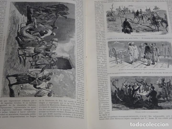 Enciclopedias antiguas: LIBRO TOMO ENCICLOPÉDICO SIGLO XIX AÑO 1879. EL MUNDO ILUSTRADO 1. MARRUECOS EGIPTO 774PAG. 3,5KG - Foto 14 - 254988715