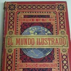 Enciclopedias antiguas: LIBRO TOMO ENCICLOPÉDICO SIGLO XIX AÑO 1879. EL MUNDO ILUSTRADO 1. MARRUECOS EGIPTO 774PAG. 3,5KG. Lote 254988715